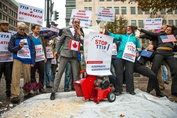 Stop TTIP - Demo